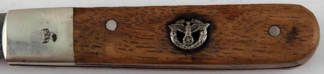 WWII GERMAN THIRD REICH SS POLICE POCKET KNIFE - 2