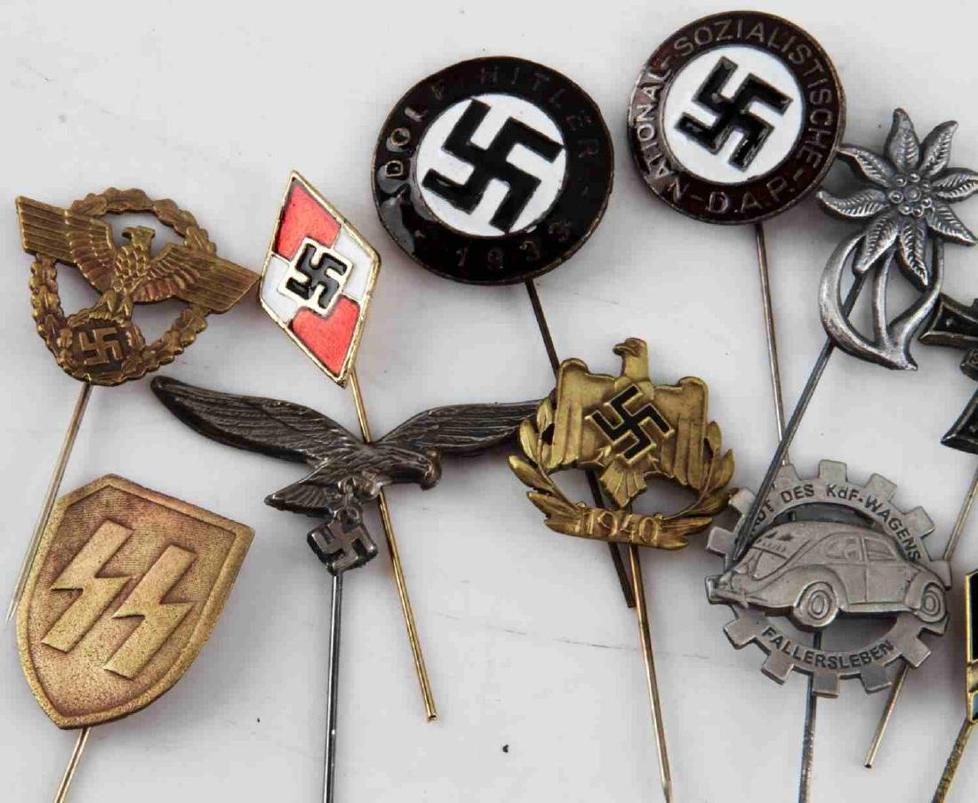 WWII GERMAN THIRD REICH STICK PIN LOT OF 12 - 3