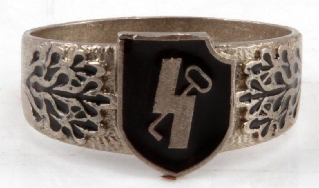 WWII GERMAN THIRD REICH SS HITLER YOUTH RING