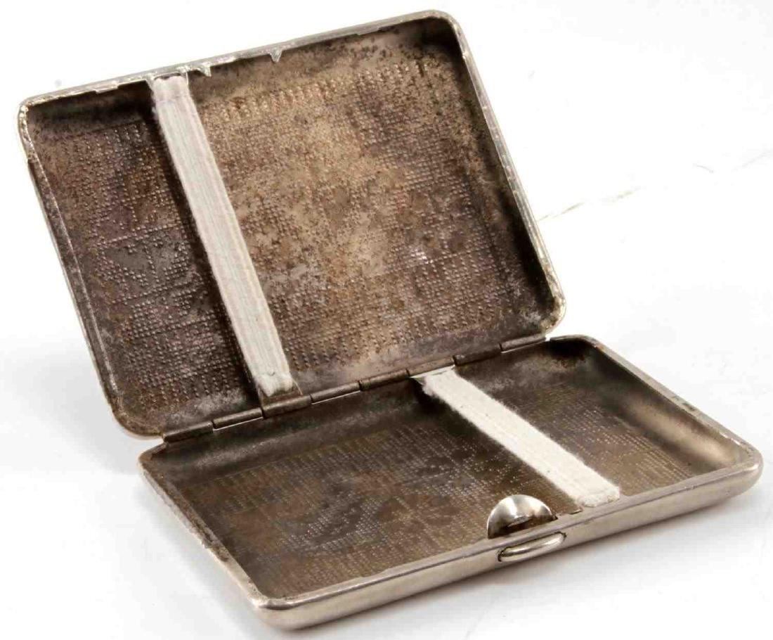 WWII GERMAN 3RD REICH 1ST MOUNTAIN CIGARETTE CASE - 4