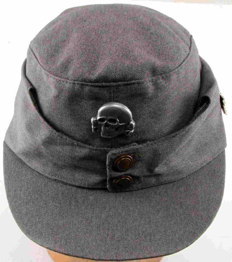 WWII GERMAN THIRD REICH SS MOUNTAIN TROOP M43 CAP