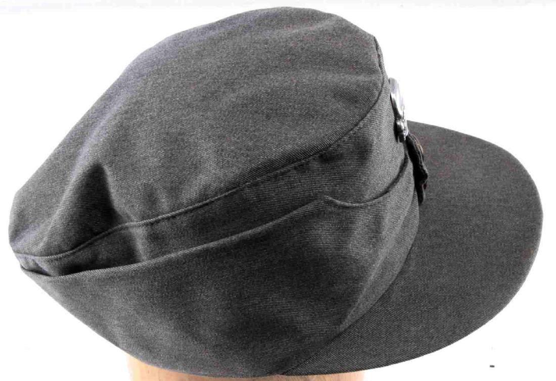 WWII GERMAN THIRD REICH SS MOUNTAIN TROOP M43 CAP - 3