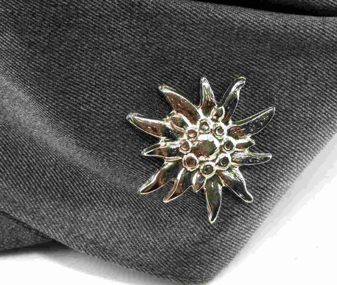WWII GERMAN THIRD REICH SS MOUNTAIN TROOP M43 CAP - 5