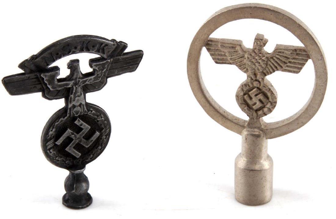 WWII GERMAN THIRD REICH NSKK & NSDAP FLAG TOP LOT - 4