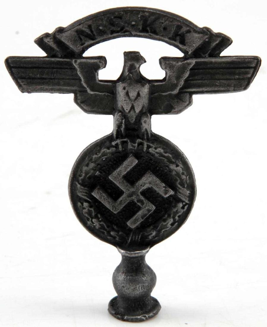 WWII GERMAN THIRD REICH NSKK & NSDAP FLAG TOP LOT - 5