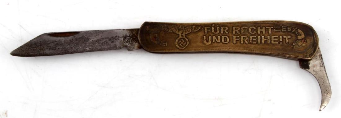 WWII GERMAN THIRD REICH NSDAP POCKET KNIFE