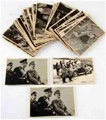 WWII GERMAN THIRD REICH HITLER PHOTO LOT OF 57