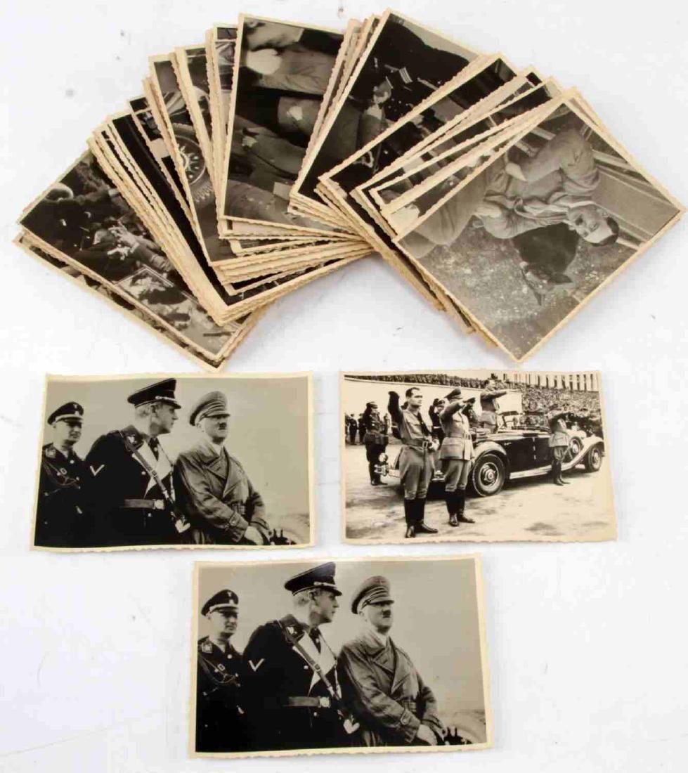 WWII GERMAN THIRD REICH HITLER PHOTO LOT OF 57
