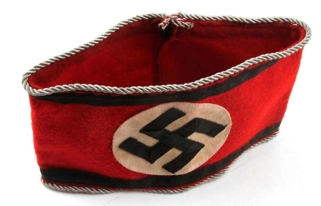 WWII GERMAN THIRD REICH EARLY WAFFEN SS ARMBAND
