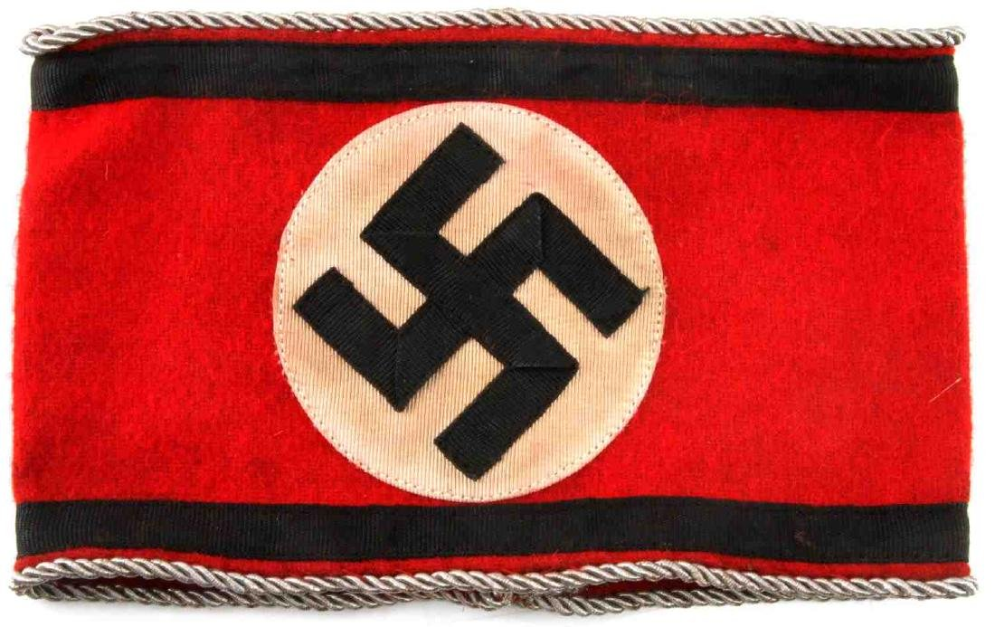 WWII GERMAN THIRD REICH EARLY WAFFEN SS ARMBAND - 2