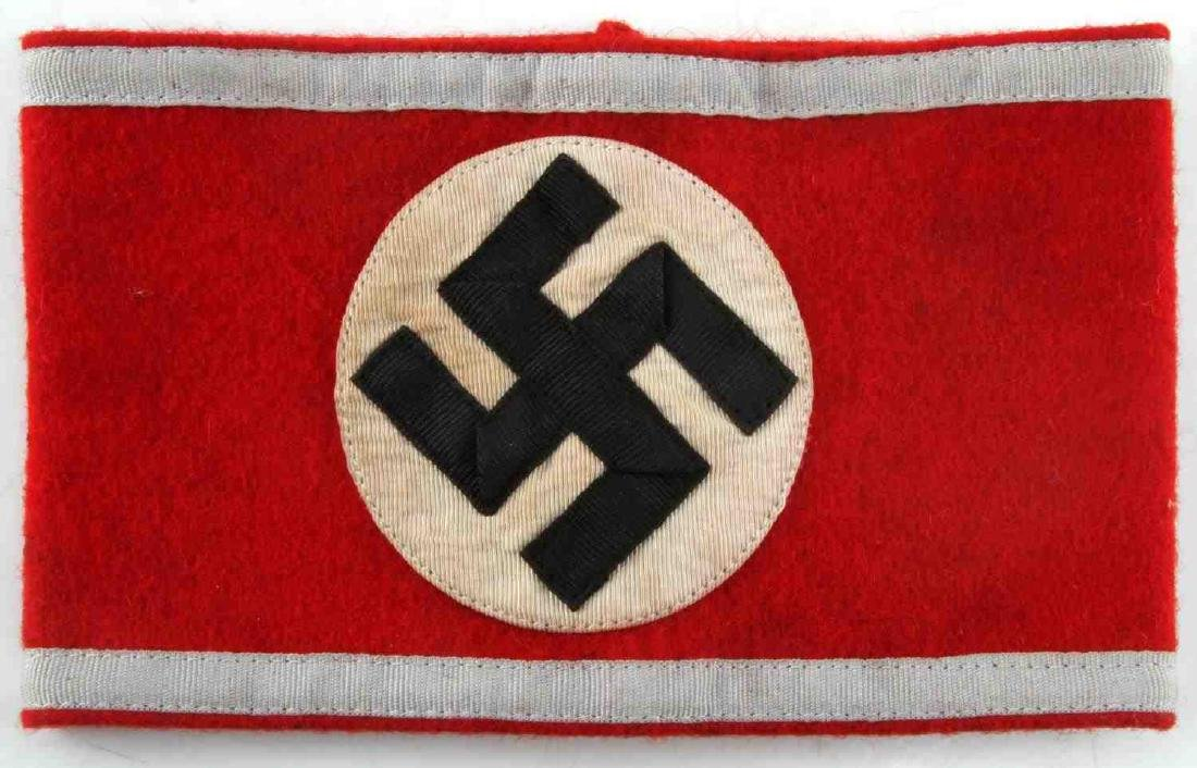 WWII GERMAN THIRD REICH SA RESERVE ARMBAND - 2