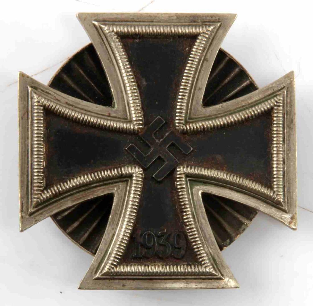 WWII GERMAN IRON CROSS 1ST CLASS & 1939 SPANGE - 4