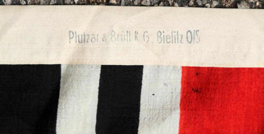 WWII GERMAN THIRD REICH KRIEGSMARINE BATTLE FLAG - 6