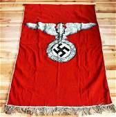 WWII GERMAN THIRD REICH REICHSADLER BANNER