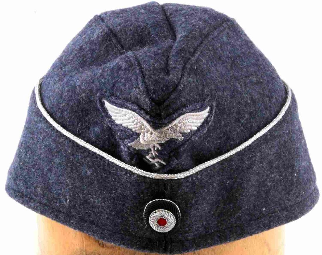 WWII GERMAN THIRD REICH NSDAP LUFTWAFFE WOOL CAP