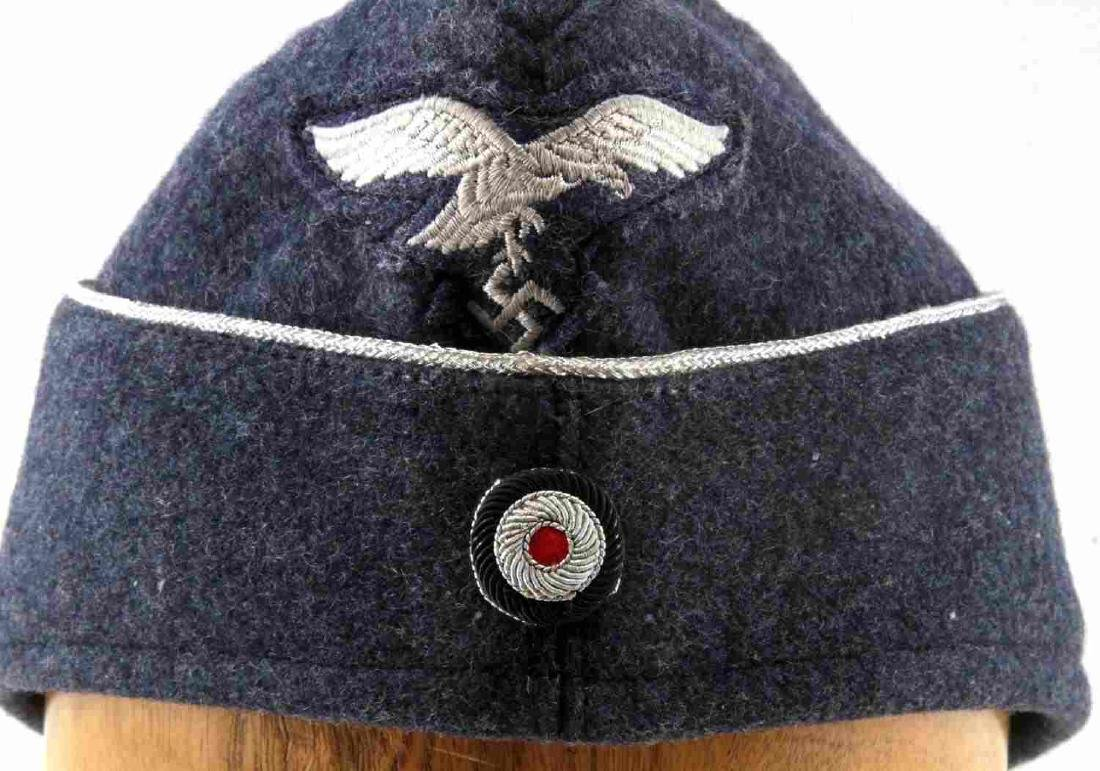 WWII GERMAN THIRD REICH NSDAP LUFTWAFFE WOOL CAP - 5