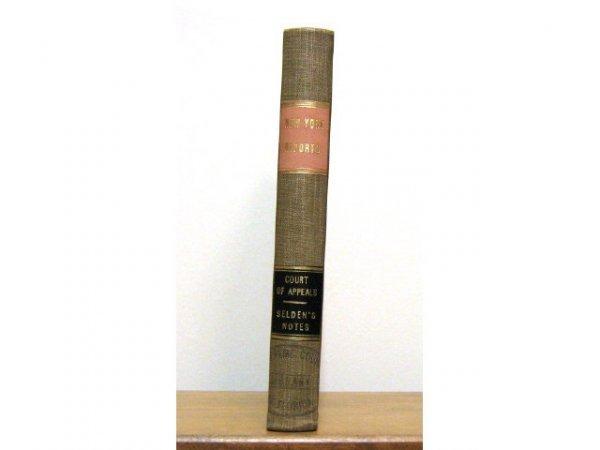 NEW YORK APPEALS COURT CASE NOTES SELDON 1878