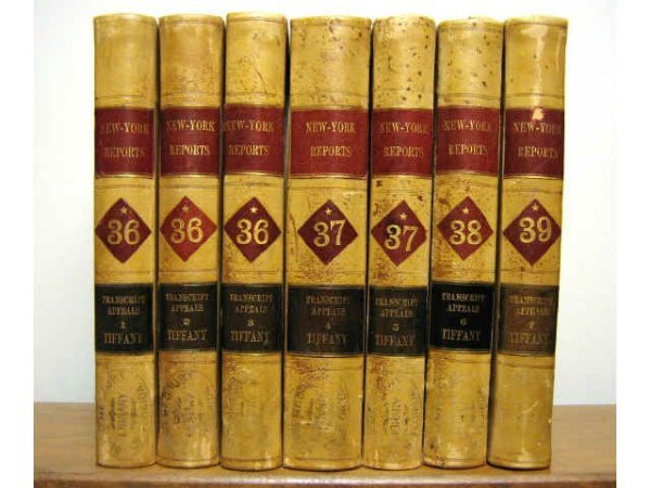 NEW YORK APPEALS COURT OPINIONS TIFFANY 1907