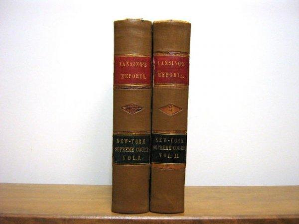 NEW YORK SUPREME COURT REPORTS LANSING 1870 1873