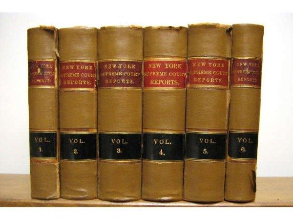 NEW YORK SUPREME COURT CASES 1873 1875