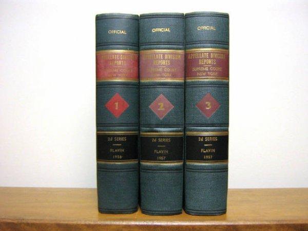 NEW YORK SUPREME COURT APELLATE REPORTS 1896 1991