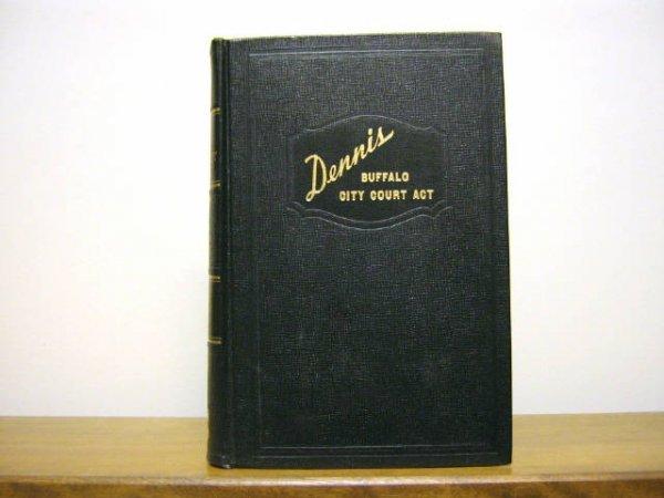 DENNIS BUFFALO CITY COURT ACT WINER 1940