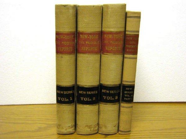 CIVIL PROCEDURE REPORTS NEW YORK BYRNES 1910 1913