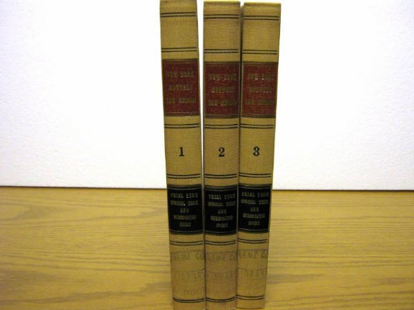 NY SUPREME COURT MONTHLY LAW RECORD PELOUBET 1897