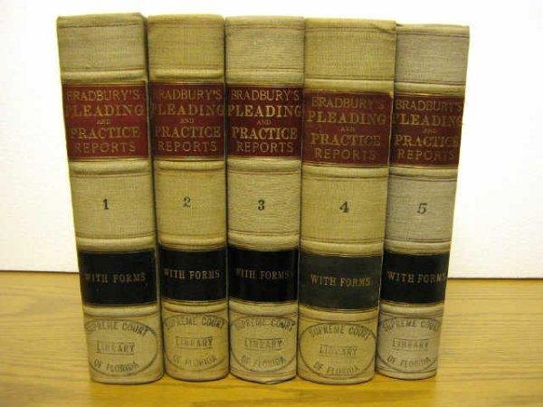 BRADBURYS PLEADING AND PRACTICE REPORTS 1912 1920