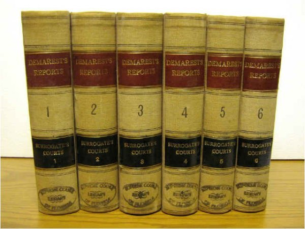 CASES REPORTS NEW YORK SURROGATES COURTS DEMAREST
