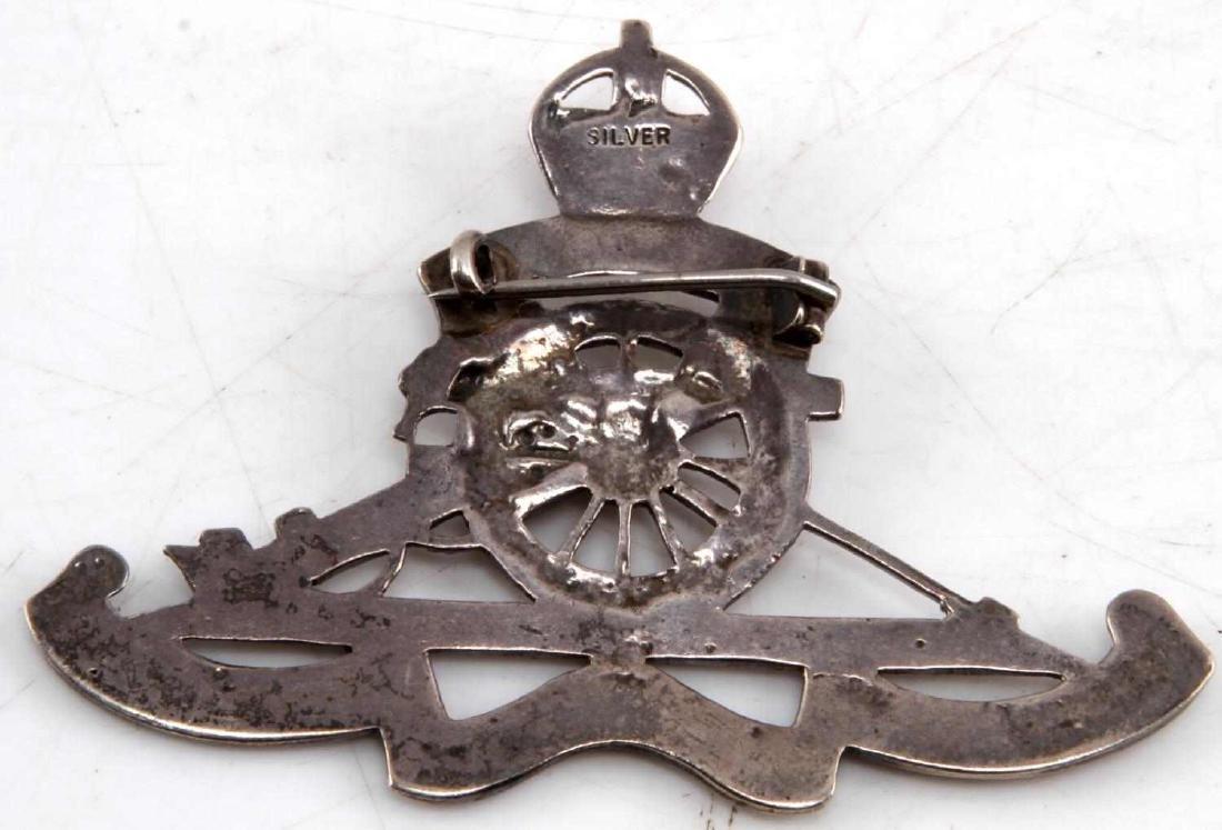 US WWI WWII TANK & ARMOR SWEETHEART BADGE LOT OF 8 - 3