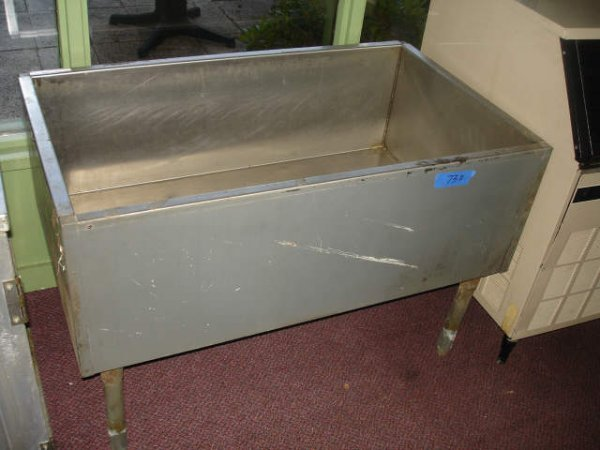 STAINLESS BAR ICE CHEST BOTTLE BEER TUB COOLER