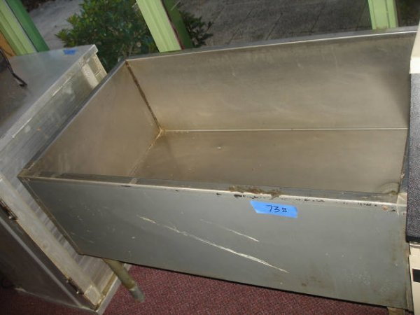 STAINLESS BAR ICE CHEST BOTTLE BEER TUB COOLER - 4