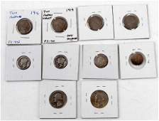 CHERRYPICKERS NICKEL DIME QUARTER VARIETIES LOT