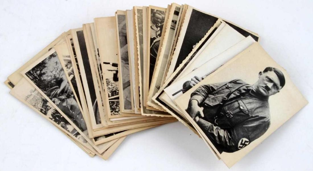 60 WWII GERMAN THIRD REICH ADOLF HITLER PHOTO LOT