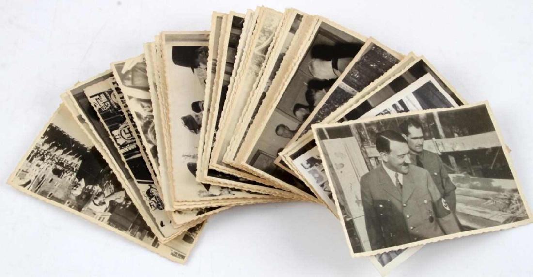 44 WWII GERMAN THIRD REICH ADOLF HITLER PHOTO LOT