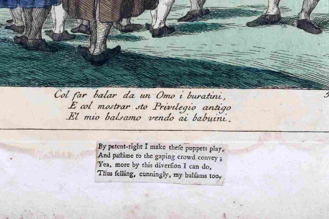 BOOK OF DEGAS PRINTS AND COLORED ZOMPINI PRINT - 4