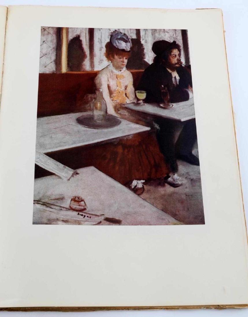 BOOK OF DEGAS PRINTS AND COLORED ZOMPINI PRINT - 7