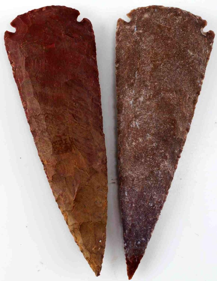 LOT HOMAGE ARROWHEADS AND CARVED PIPES - 6