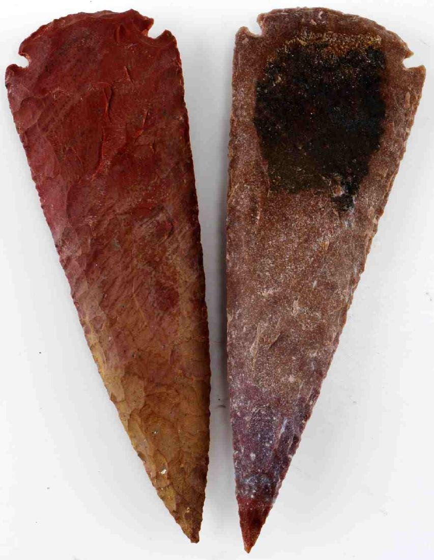 LOT HOMAGE ARROWHEADS AND CARVED PIPES - 7