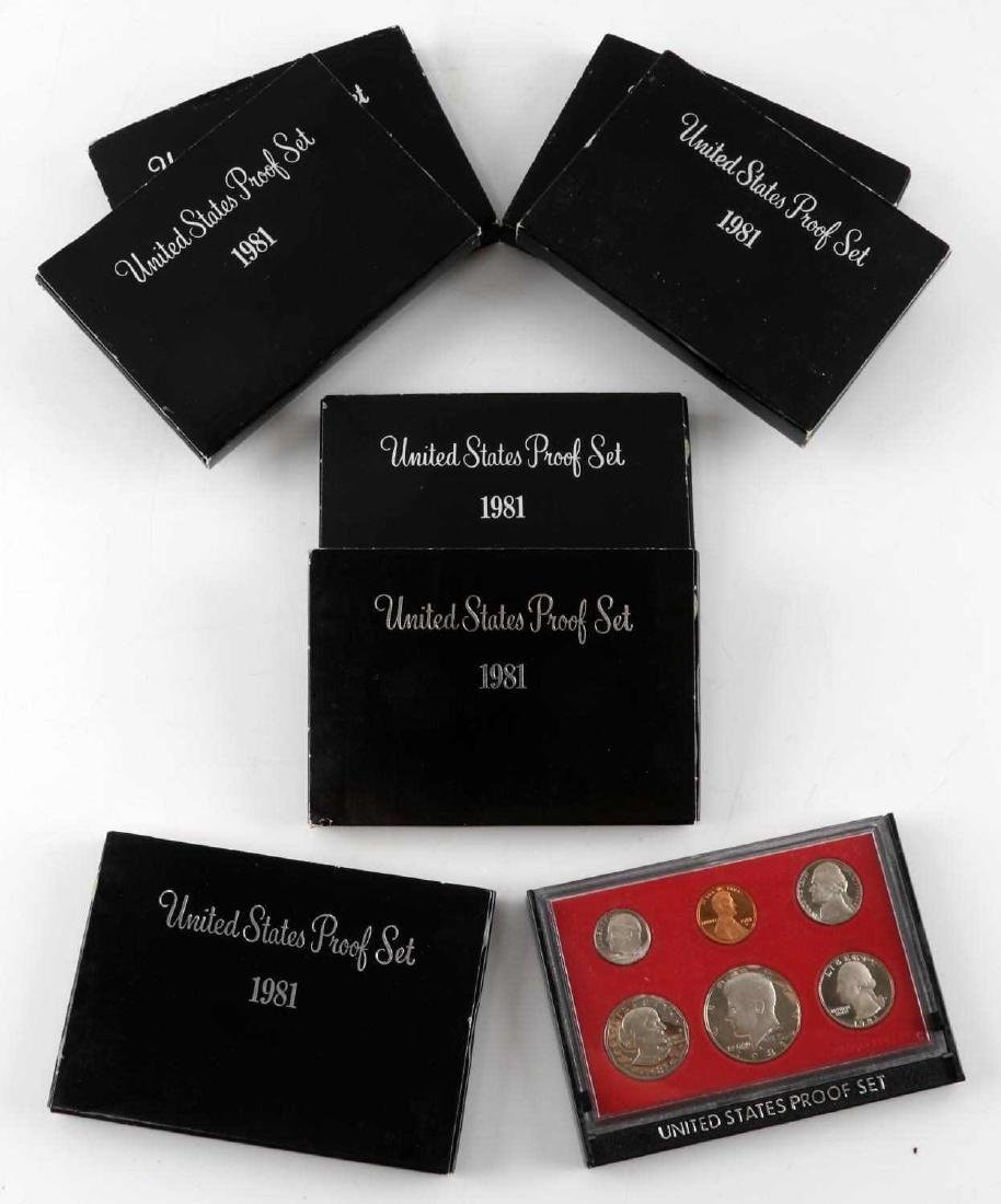 UNITED STATES PROOF SET COINS 1976 TO 1989 23 SETS - 2