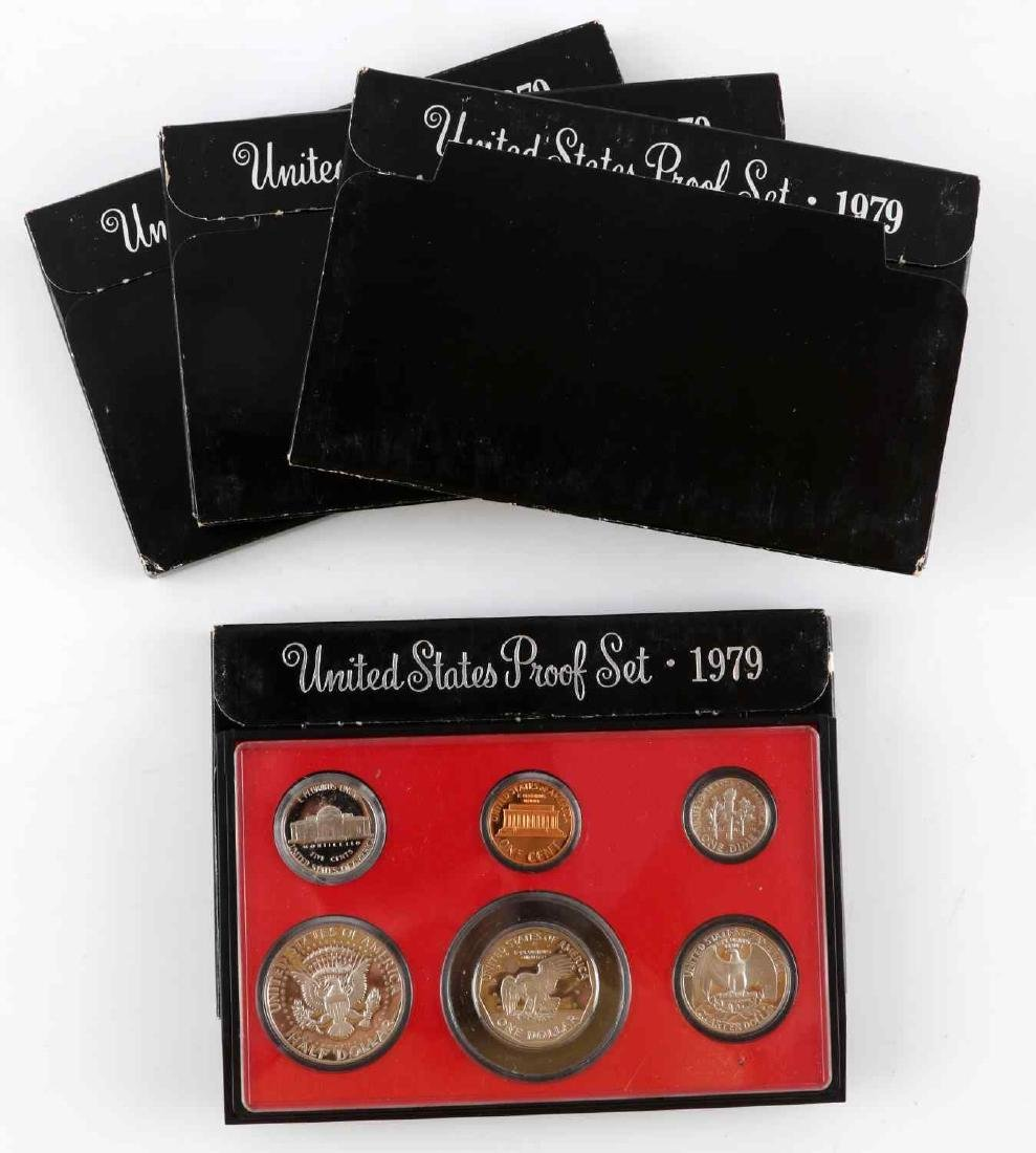 UNITED STATES PROOF SET COINS 1976 TO 1989 23 SETS - 3