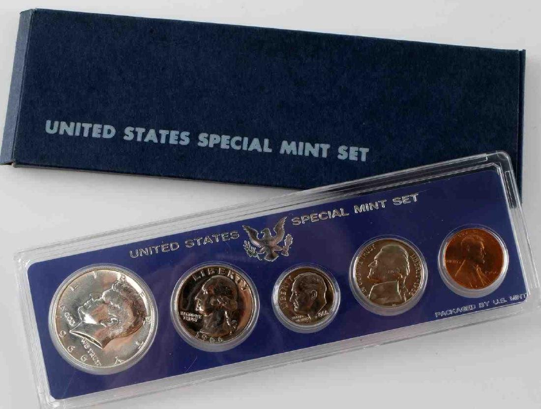 US SMS UNCIRCULATED COIN SETS UNOPENED PROOF BOX - 2