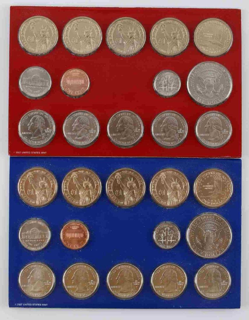 US SMS UNCIRCULATED COIN SETS UNOPENED PROOF BOX - 4