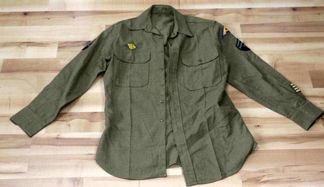 GENERAL LOT OF WWII UNIFORMS JACKET OVERCOAT - 9