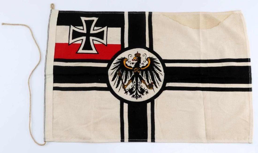 WWI IMPERIAL GERMAN BATTLE BANNER FLAG