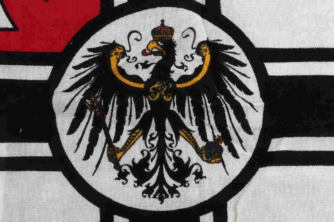 WWI IMPERIAL GERMAN BATTLE BANNER FLAG - 2