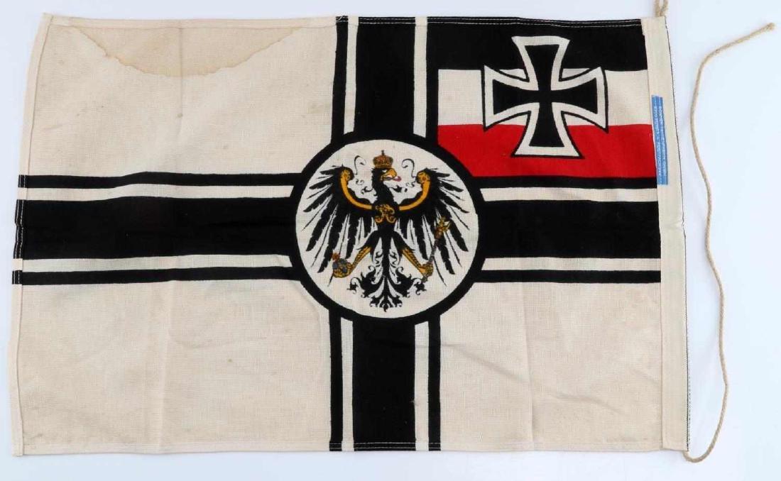 WWI IMPERIAL GERMAN BATTLE BANNER FLAG - 4