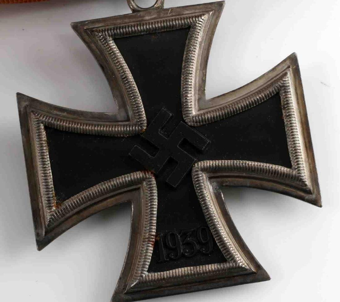 WWII GERMAN KNIGHTS CROSS OF THE IRON CROSS MEDAL - 4