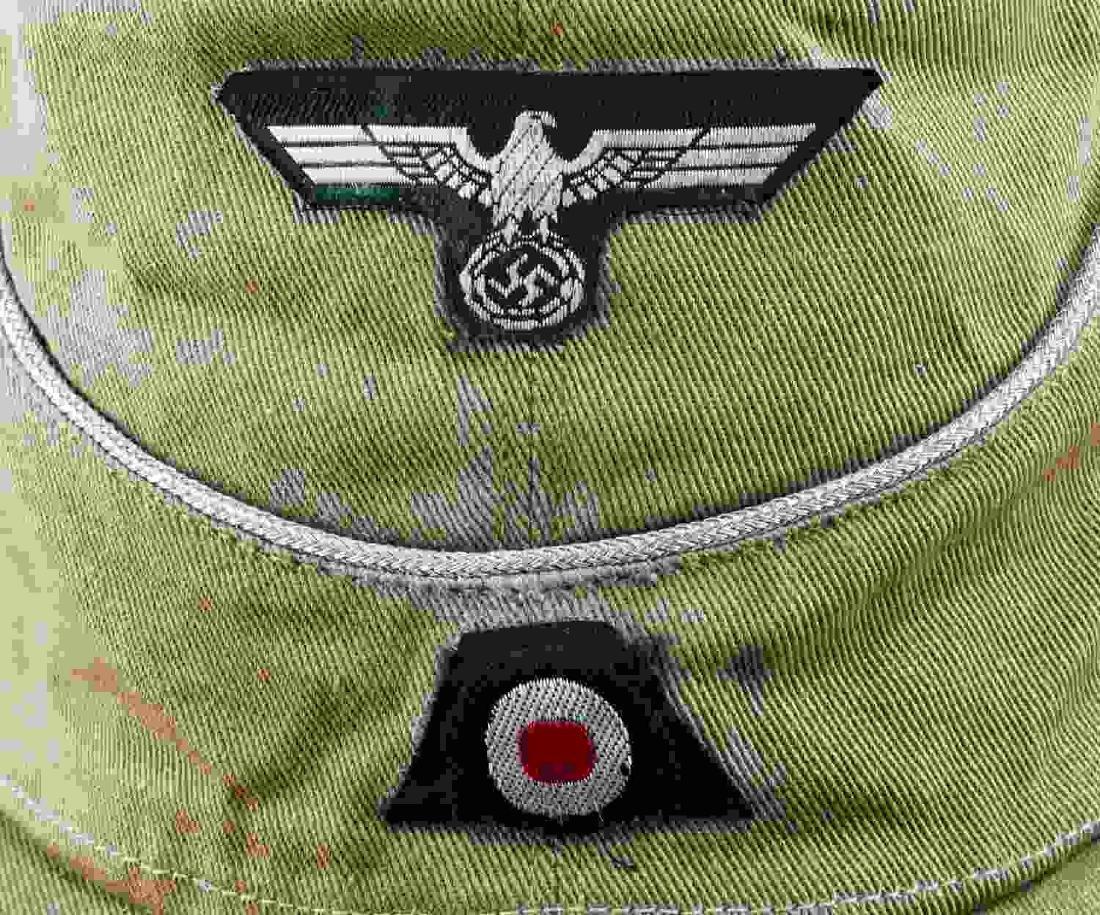 WWII GERMAN THIRD REICH WEHRMACHT HEER FIELD CAP - 2